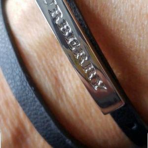 Burberry bracelet.